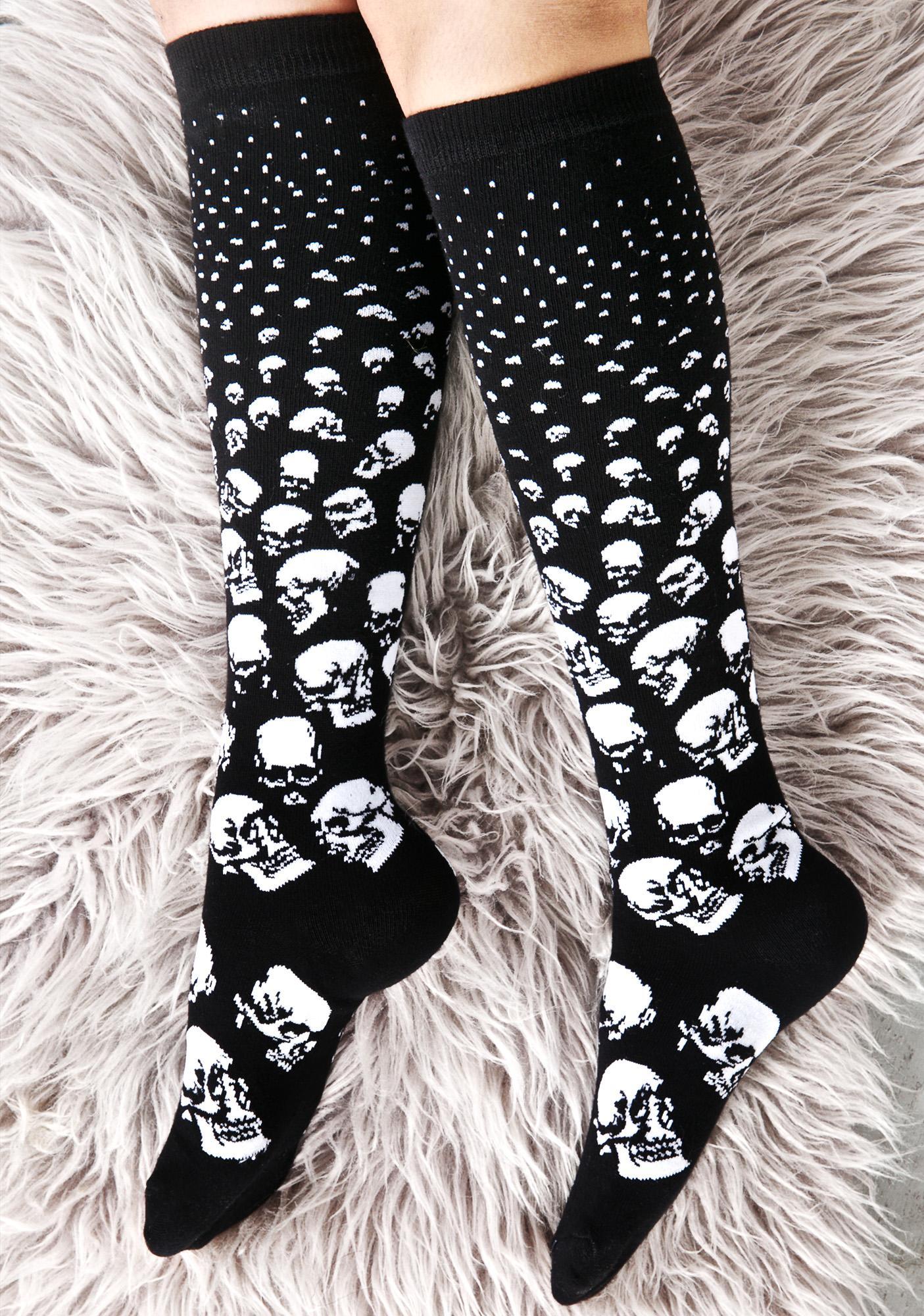 Killstar Scully Long Socks