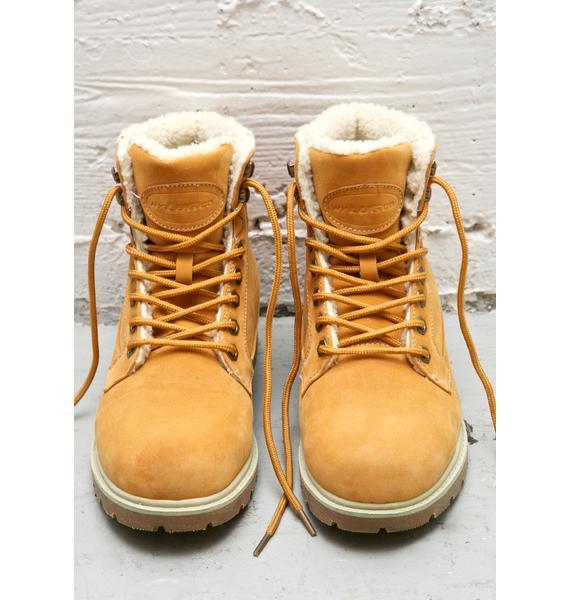 Lugz Workers Regiment High Fleece Boots