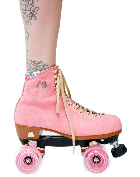 Strawberry Lolly Roller Skates