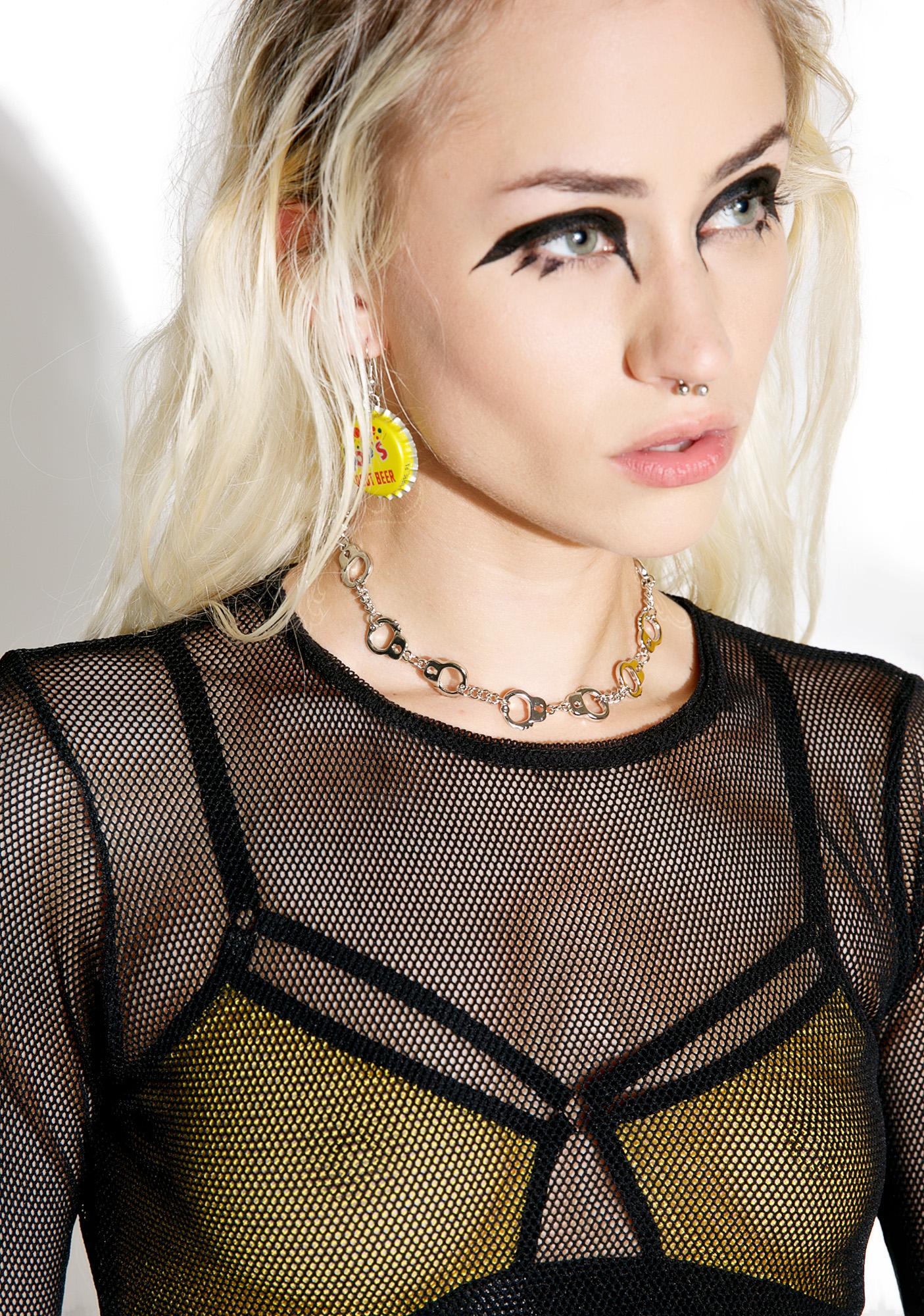 Restrain Me Chain Necklace
