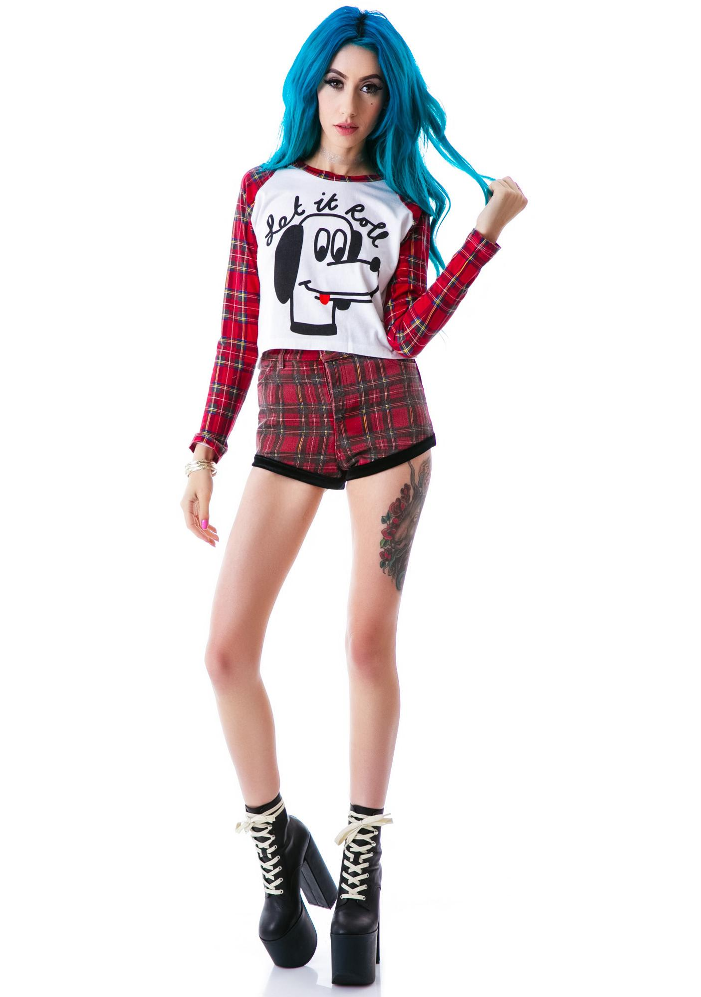 Lazy Oaf Let It Roll Long Sleeve Tee