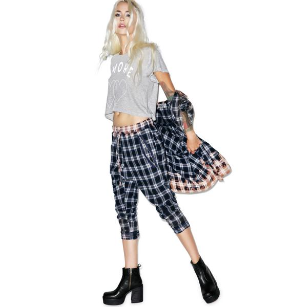 Wildfox Couture Dirty Flannel Ryan's Jogger