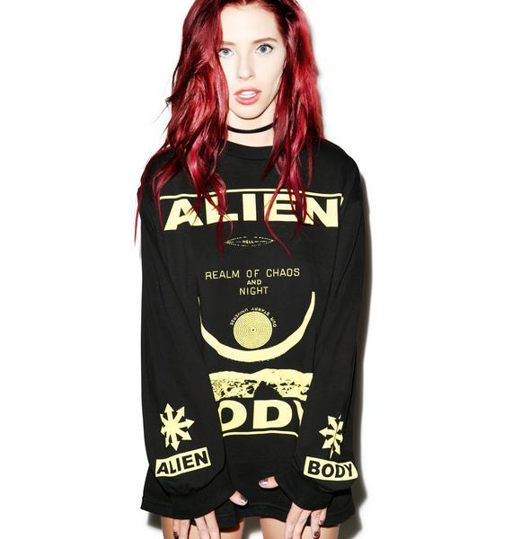 Mishka Alien Body Chaos Realm Shirt