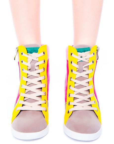 Highline Sneaker Wedge