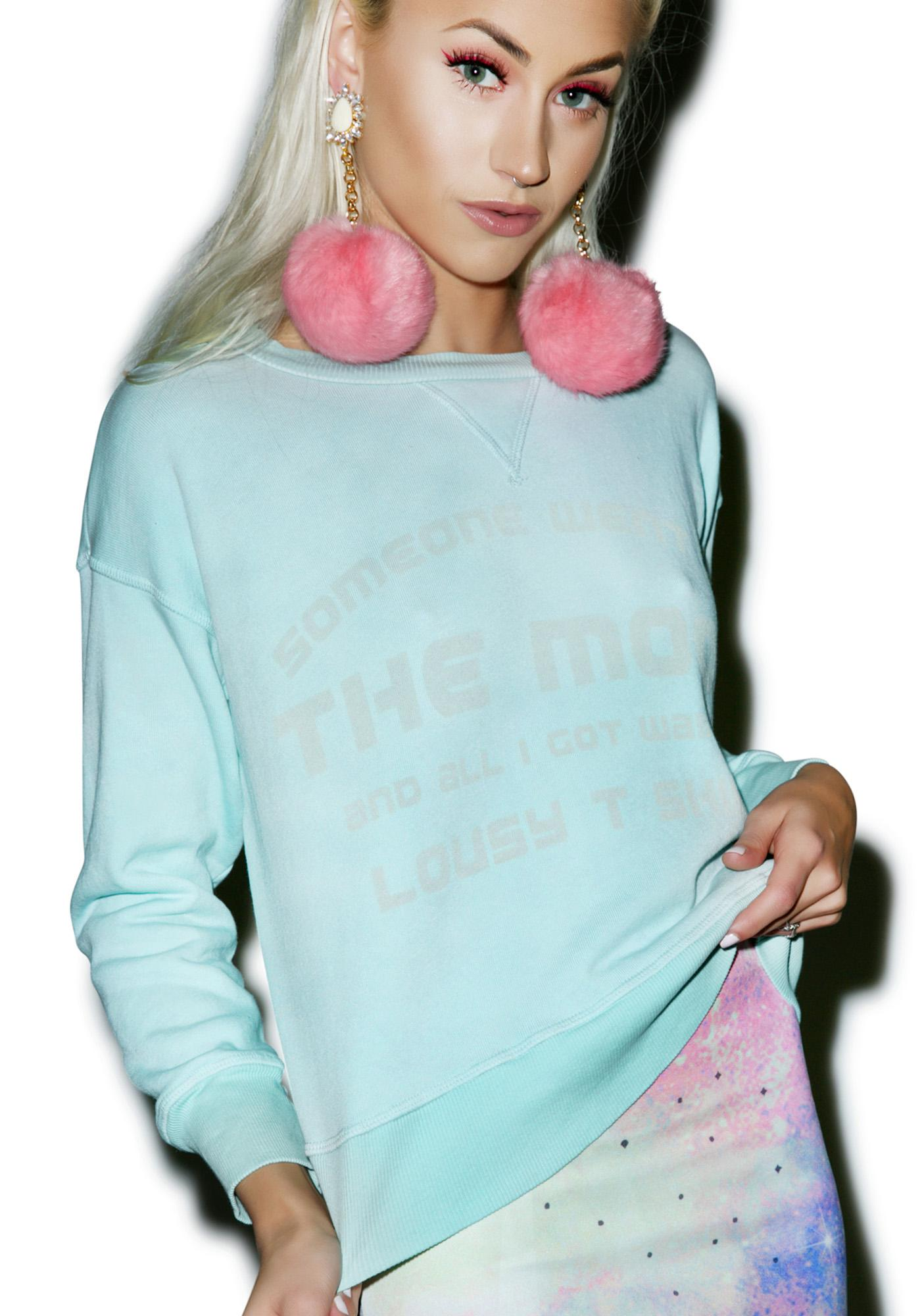 Wildfox Couture Lousy Moon Sloan Sweater