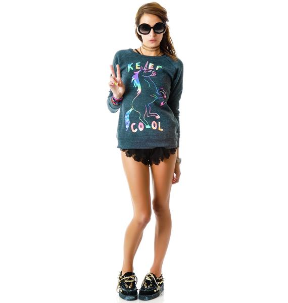 Glamour Kills Spirit Animal Sweat Top