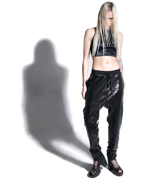 X Dolls Kill Fantasy Sequin Joggers