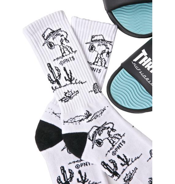 HUF X Peanuts Spike Needles Socks
