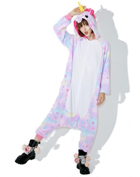 Dreamin' Pastel Unicorn Kigurumi