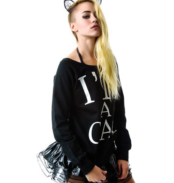 Killstar I'm A Cat Sweatshirt