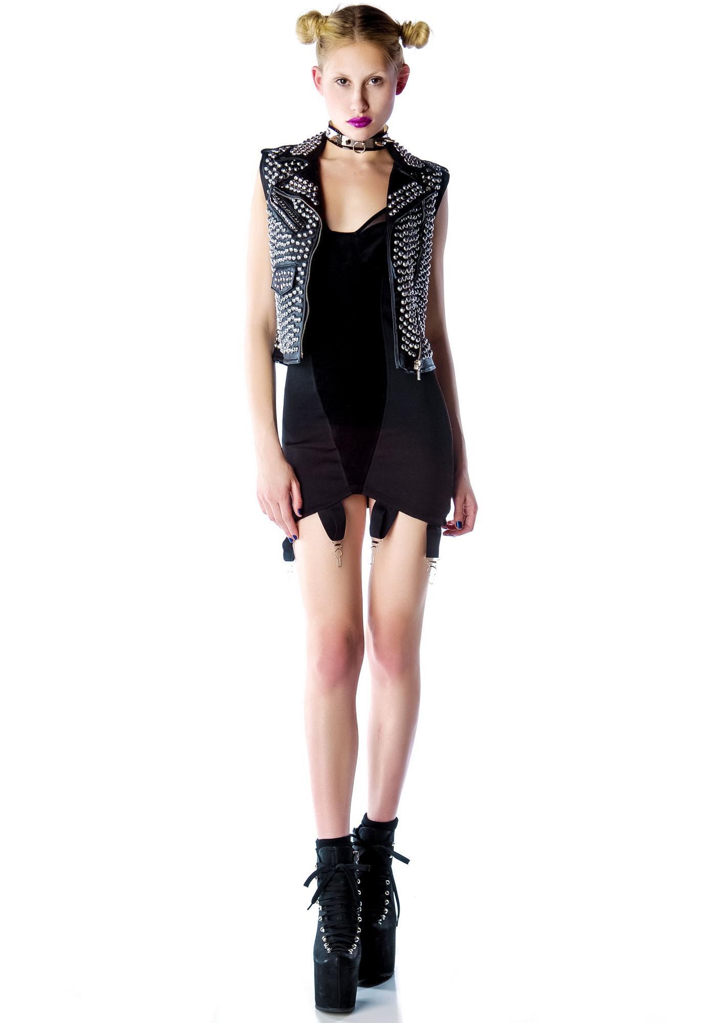 UNIF Garter Dress