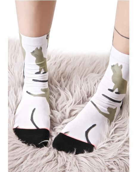 Cat Anklet Socks