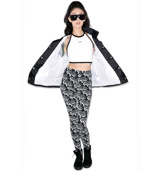 Rebel8 Graff Pattern Leggings