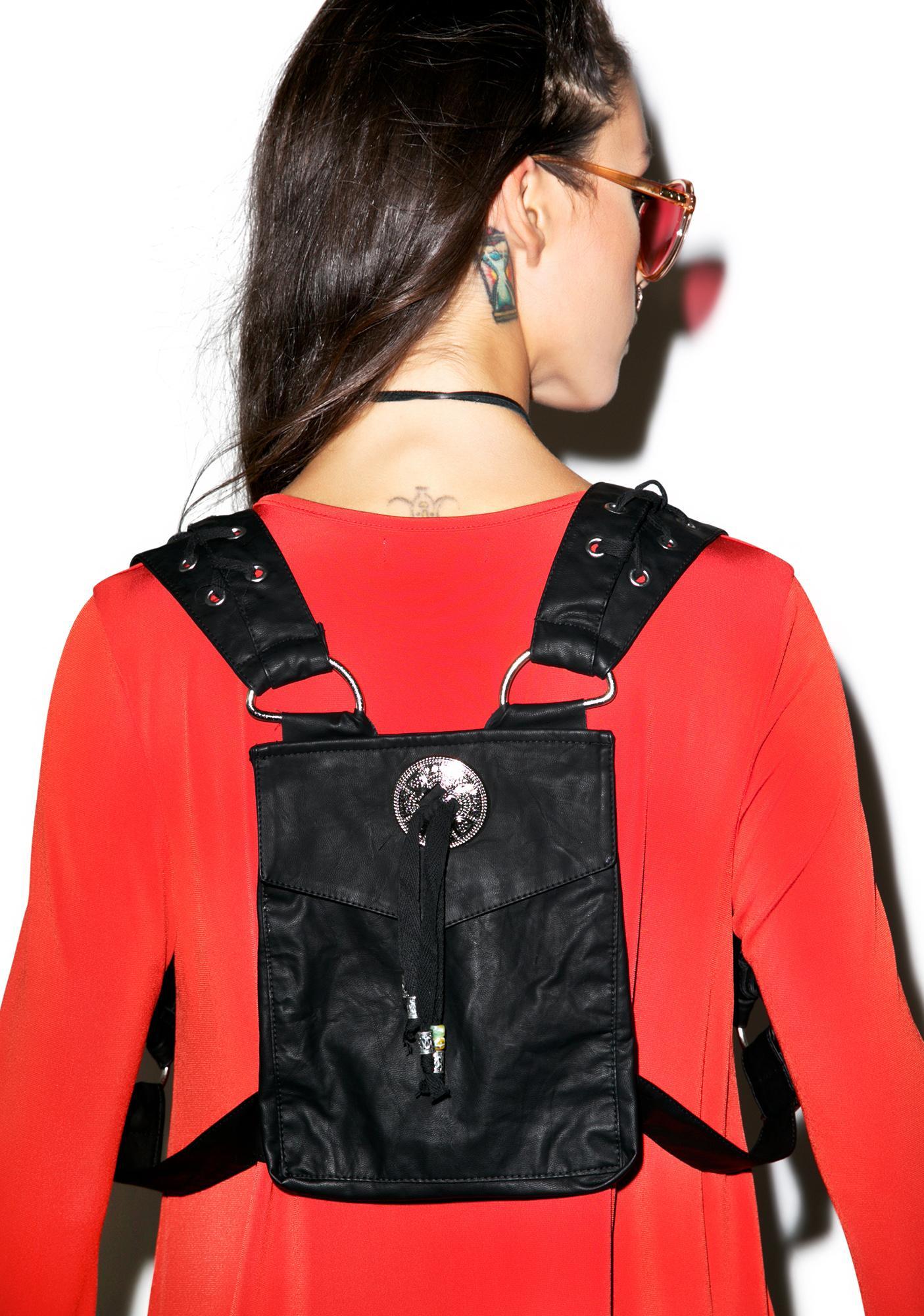 Lip Service Ghost Dancer Harness Backpack