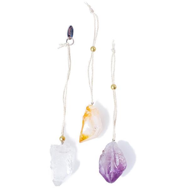 Soul Makes Sanctuary Crystal Ornament Set