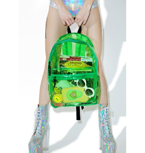 Slime Sunflyer See-Thru Backpack