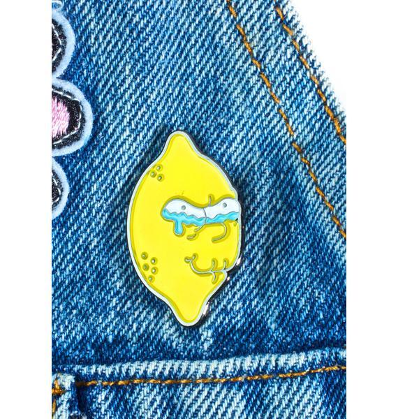 Krystan Saint Cat Lemon Of Troy Pin