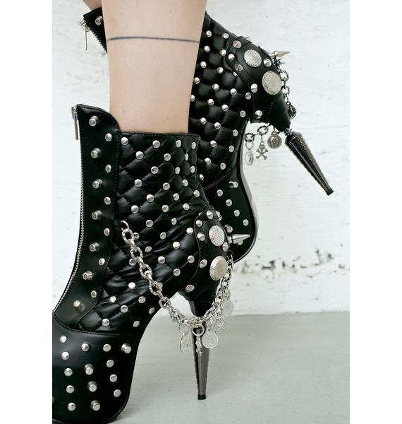 Hades Footwear Hera Heeled Bootie