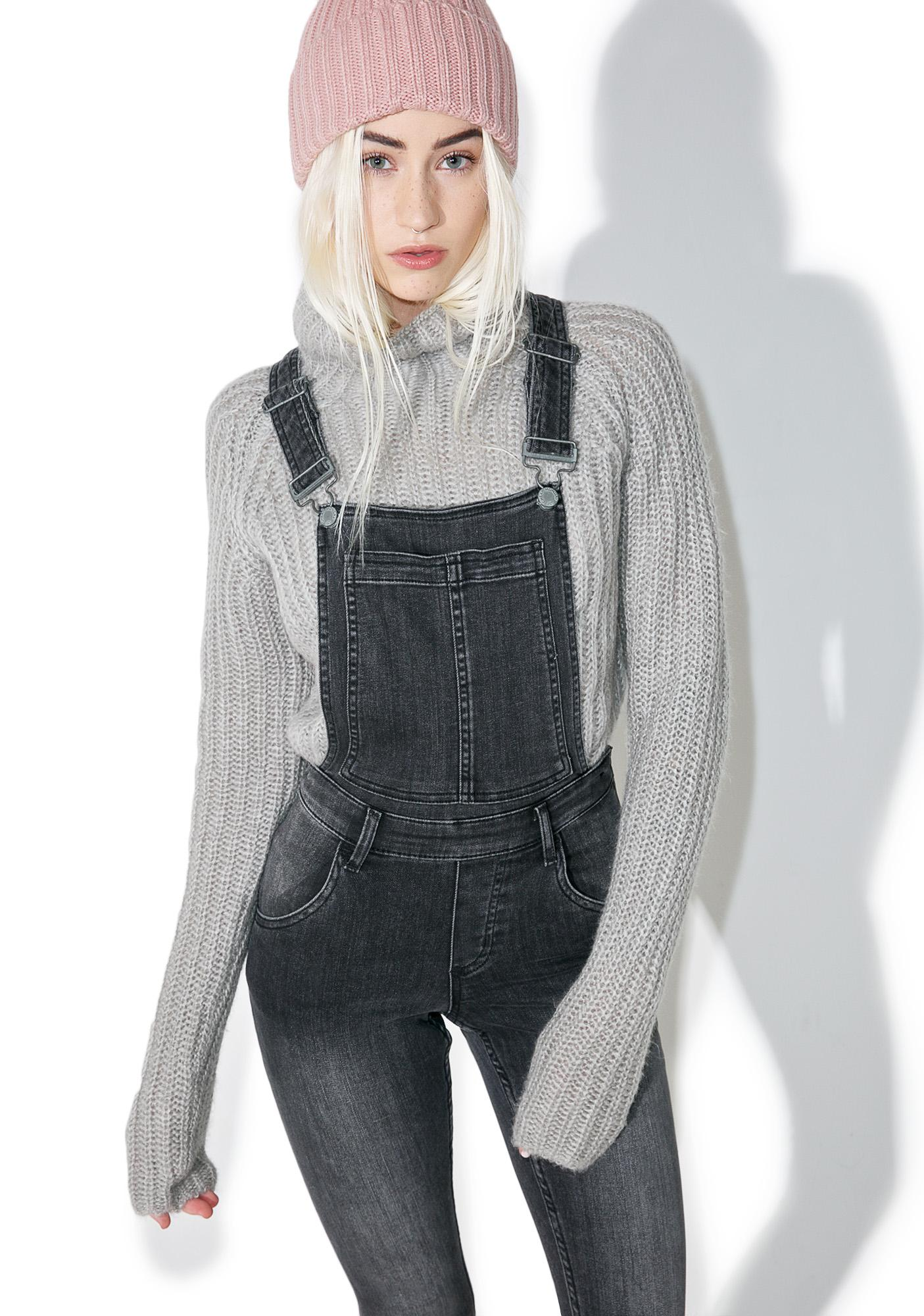 Cheap Monday Past Skinny Dungarees