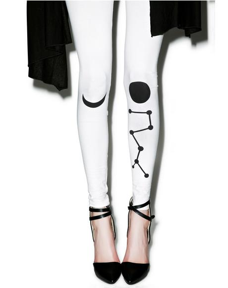 Dancing On The Moon Leggings