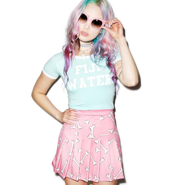 O Mighty Pinky Bones Tennis Skirt