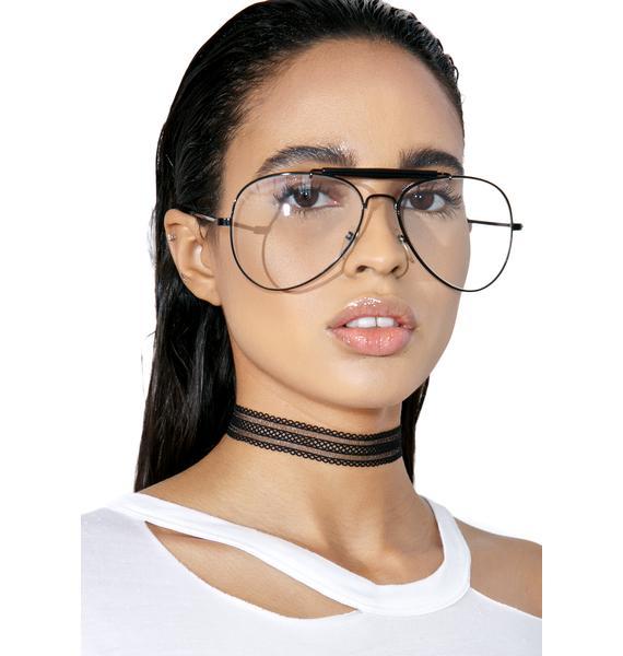 Fight Or Flight Aviator Glasses