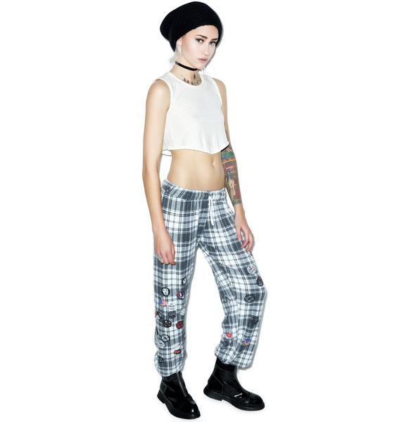 Lauren Moshi Tanzy Pins Sweat Pants