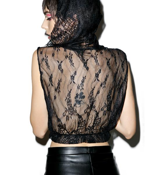 Til Death Do Us Part Lace Top