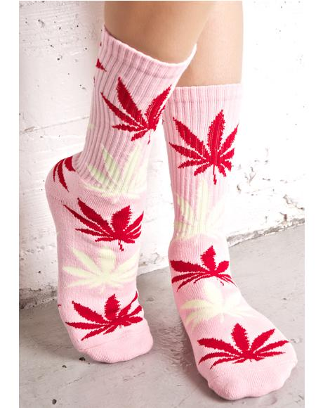 Strawberry Plantlife Crew Socks