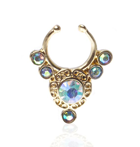 Glitter Injections Majesty Septum Clip