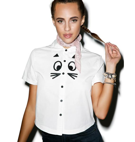 Lazy Oaf Cat Shirt