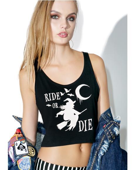 The Ride Or Die Crop Top