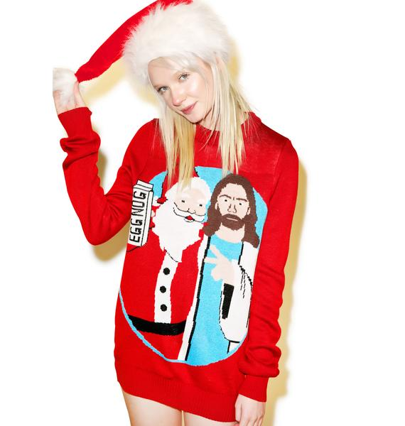 Tipsy Elves Jingle Bros Sweater