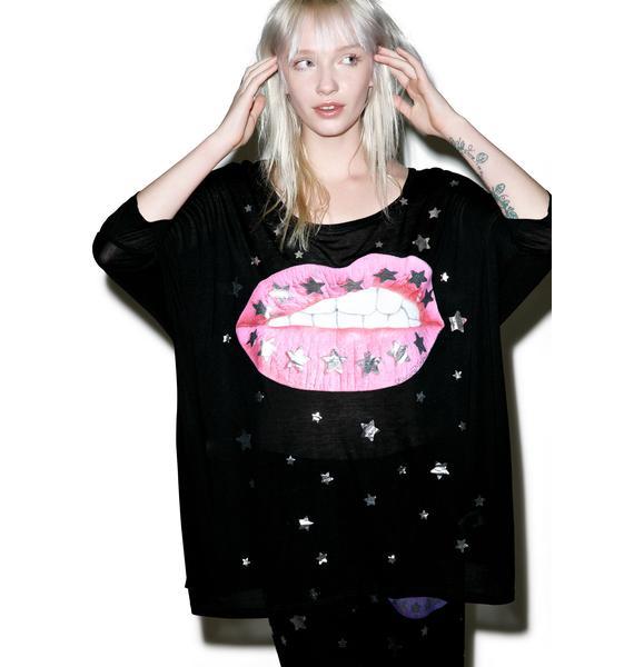 Lauren Moshi Milly Oversized Tee Dress