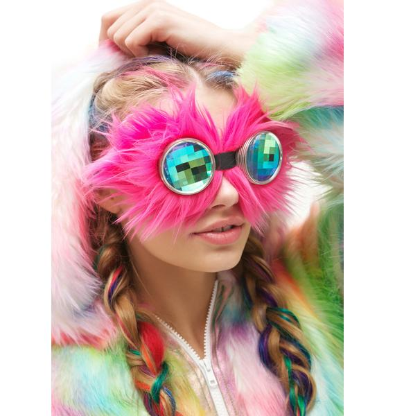 H0les Eyewear Magenta WTF Goggles