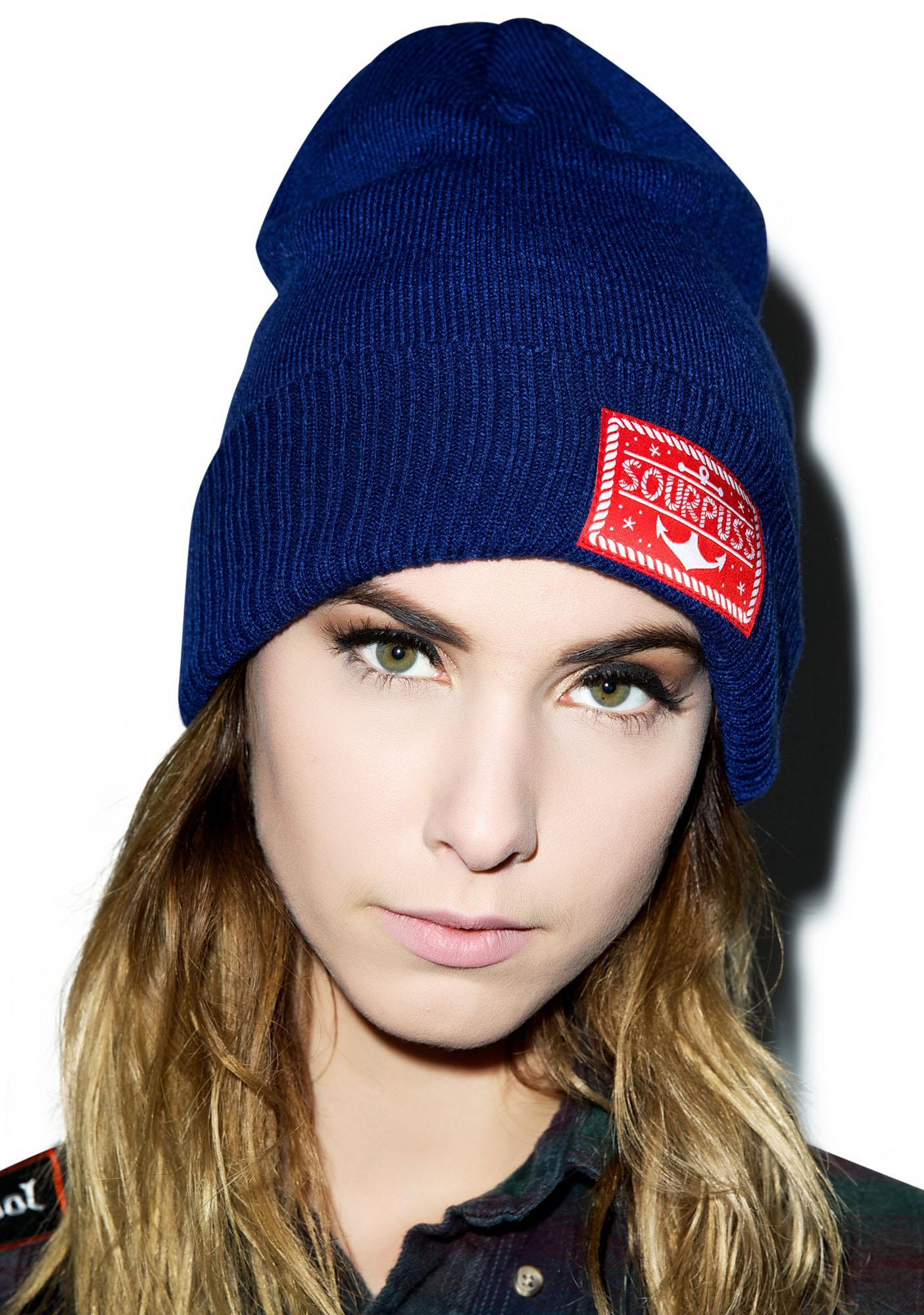 Sourpuss Clothing Anchor Logo Beanie