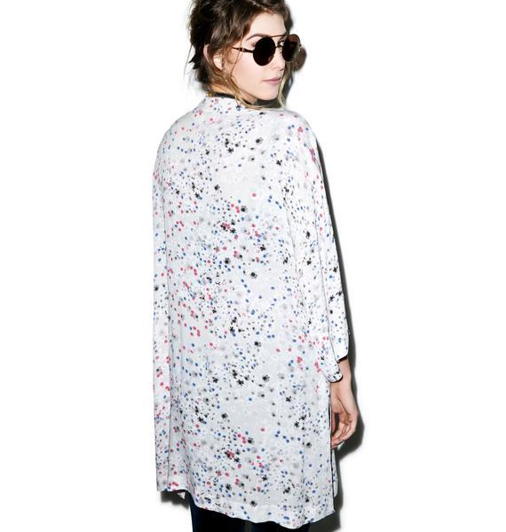 Somedays Lovin Moksha Floral Kimono Cape