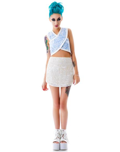 Lily Cut Out Crop Top