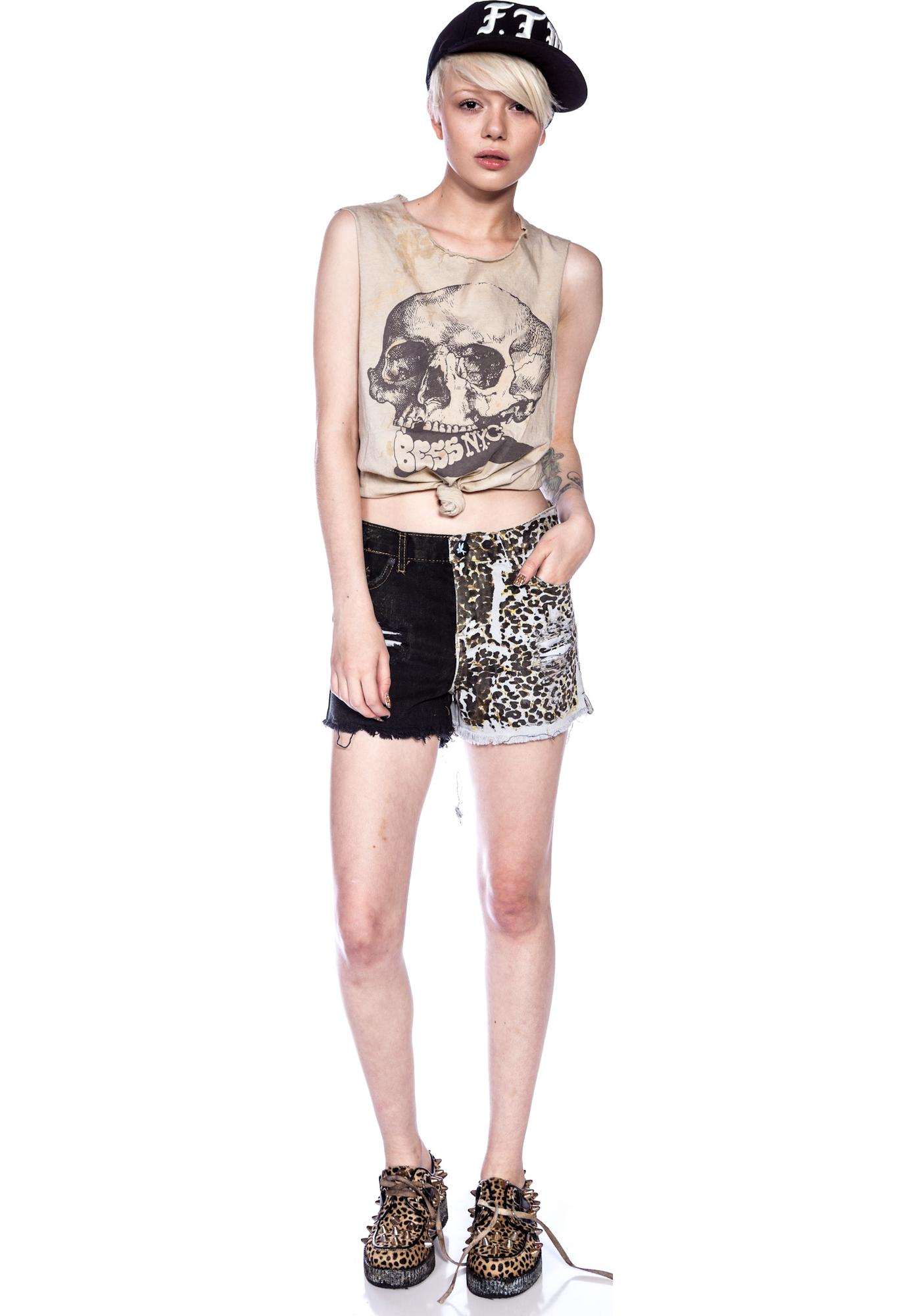 One Teaspoon Domino Romeos Shorts