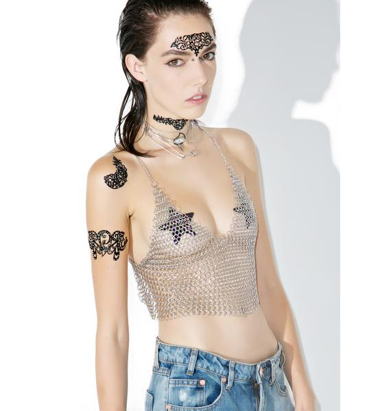 Black Rock Chained Halter Top