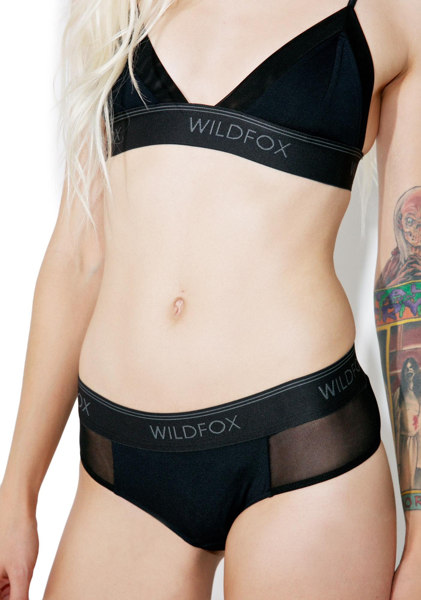 Wildfox Couture Mesh Hipster Brief