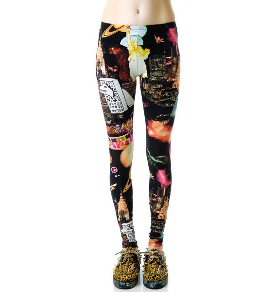 Dino Attacks Leggings