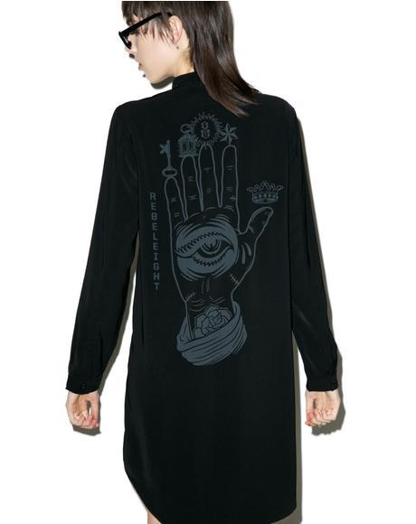 Conspiracy Shirt Dress