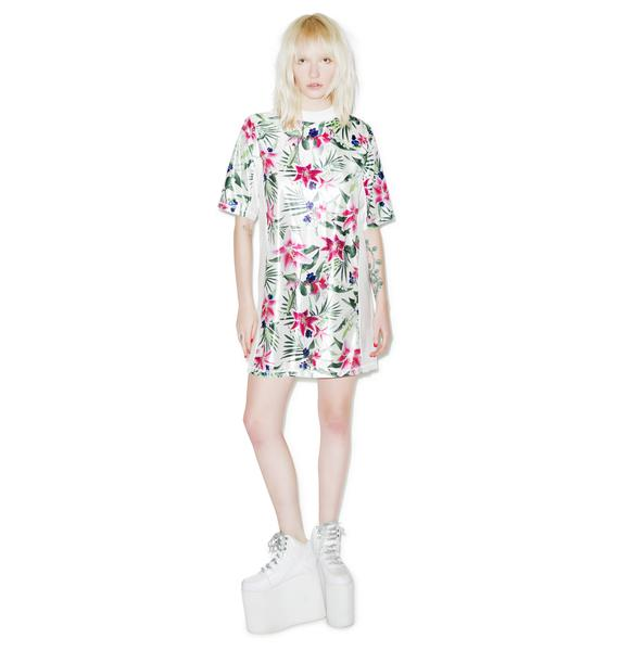 Joyrich Optical Garden Athletic Dress