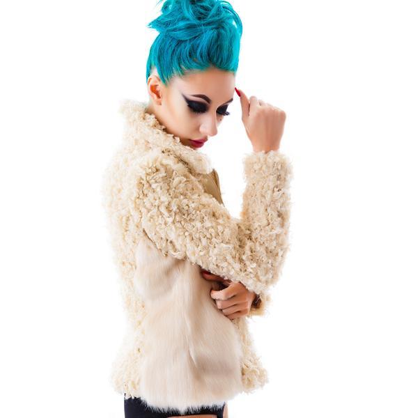 The Teddy Faux Fur Jacket