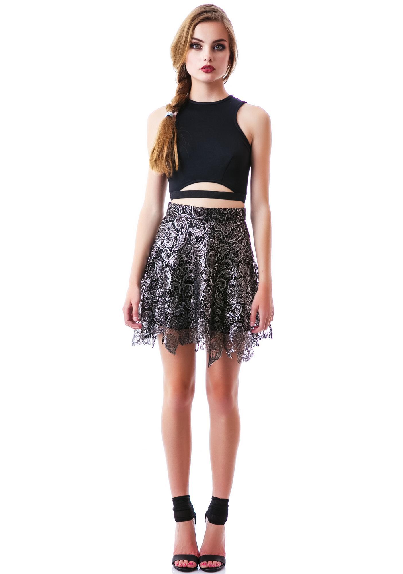 Lovelace Skirt