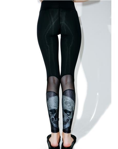 Crystal Skull Leggings
