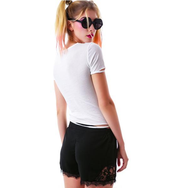 Saving Grace Lace Shorts