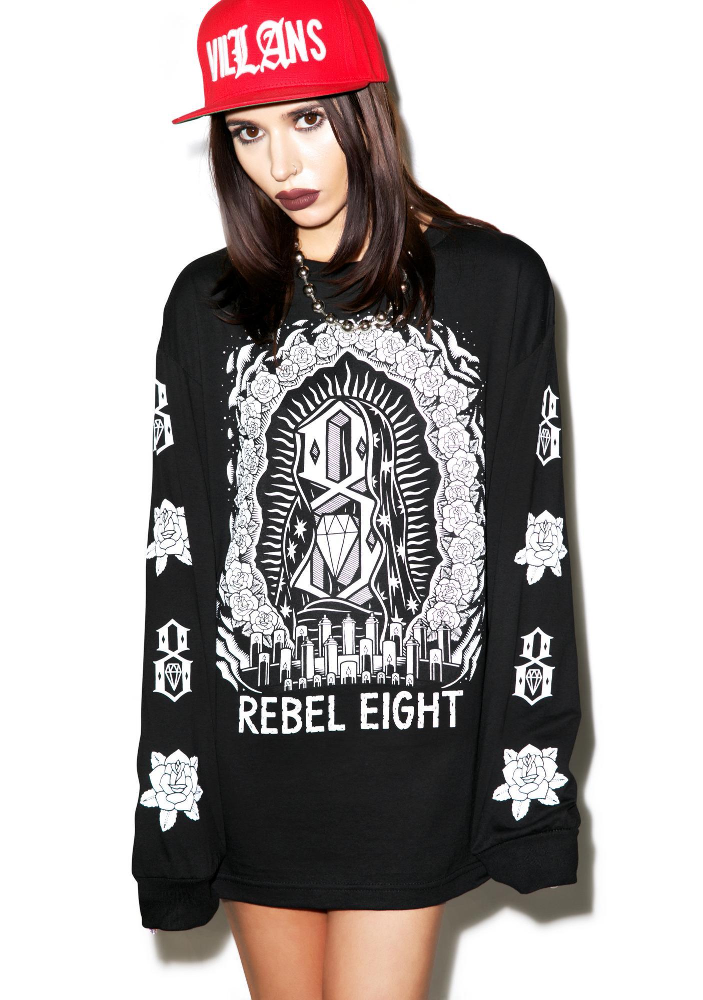 Rebel8 Worship Worthy Long Sleeve Tee
