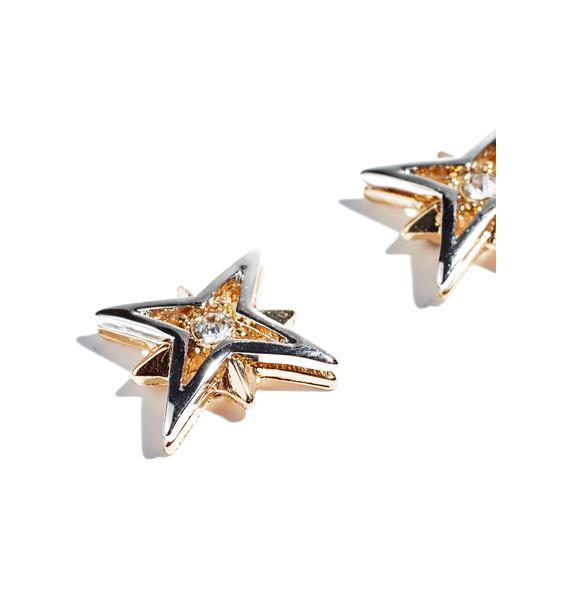 Guiding Light Post Earrings